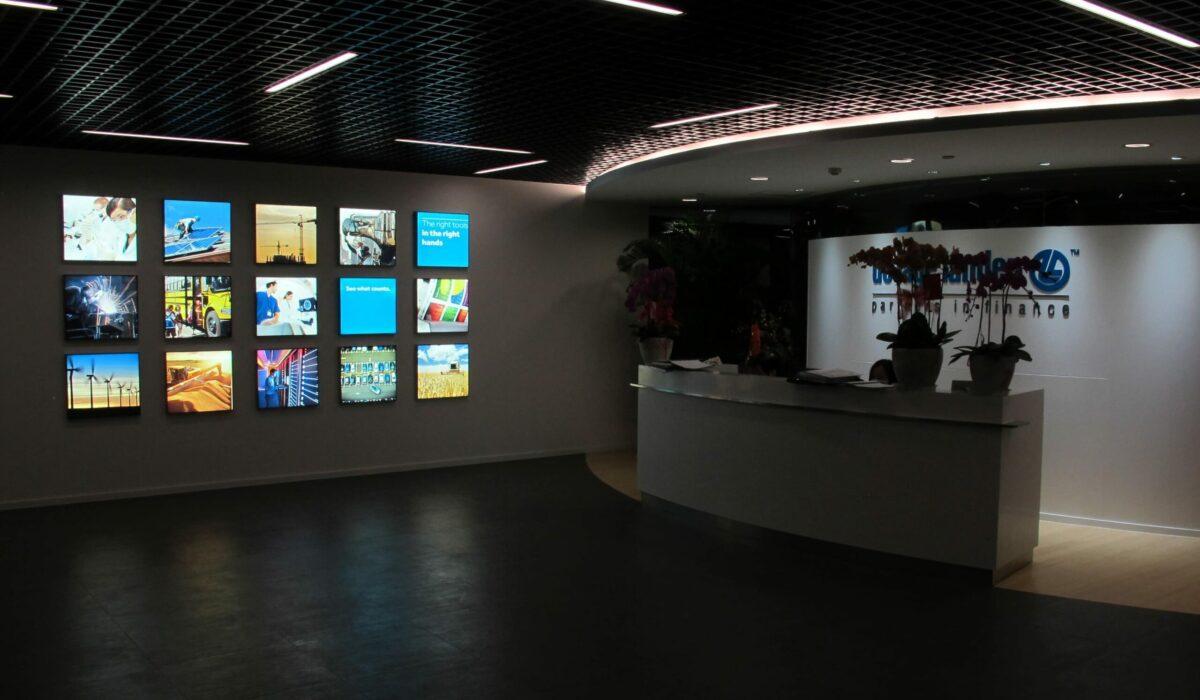 De Lage Landen - FyBox - panneau lumineux