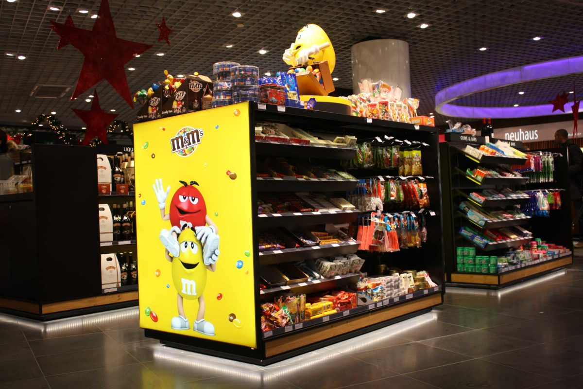 International Duty Free - FyBox - lightbox m&m