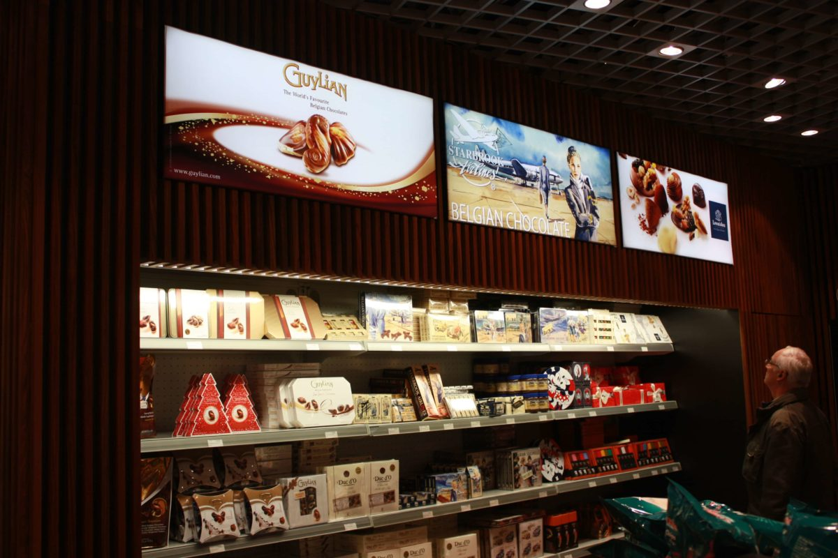 International Duty Free - FyBox - lightbox