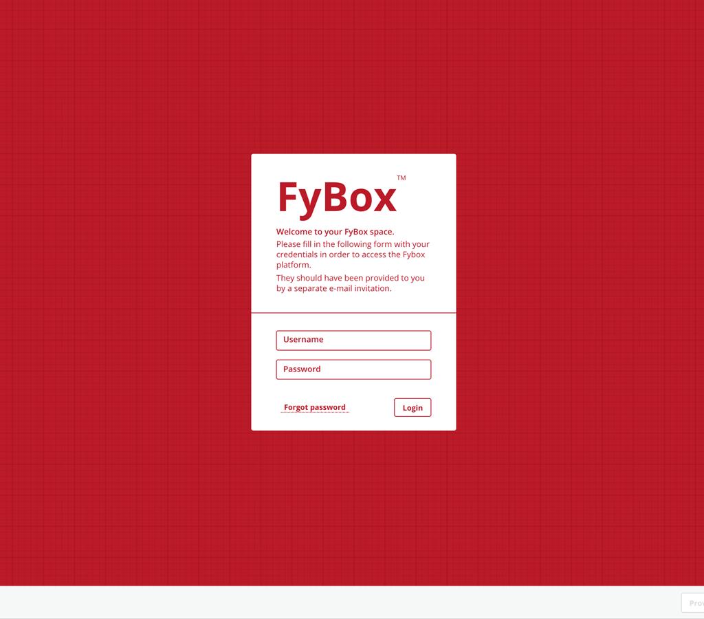 Online platform _ FyBox