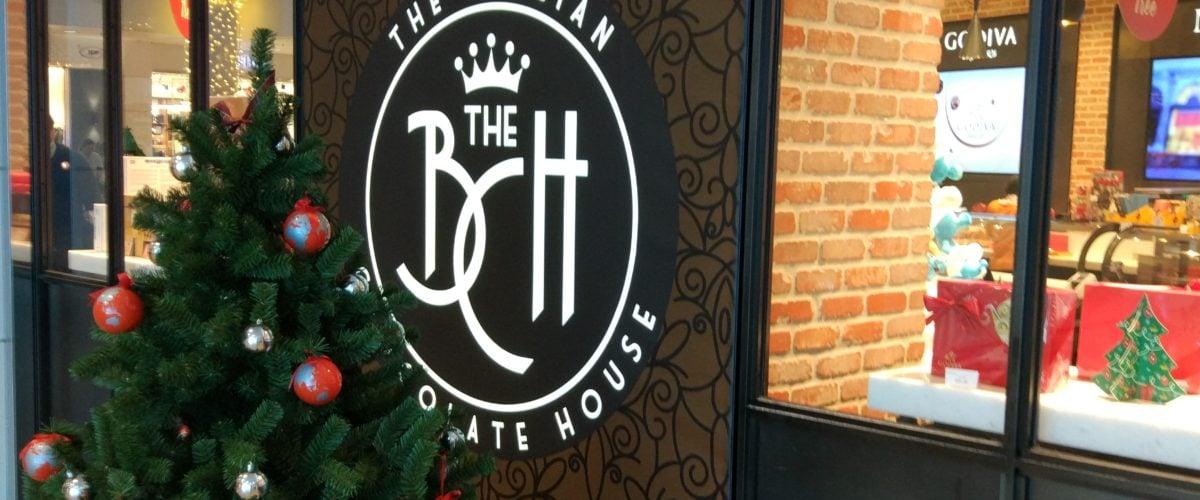 The Belgian Chocolate house - FyBox - lightbox christmas