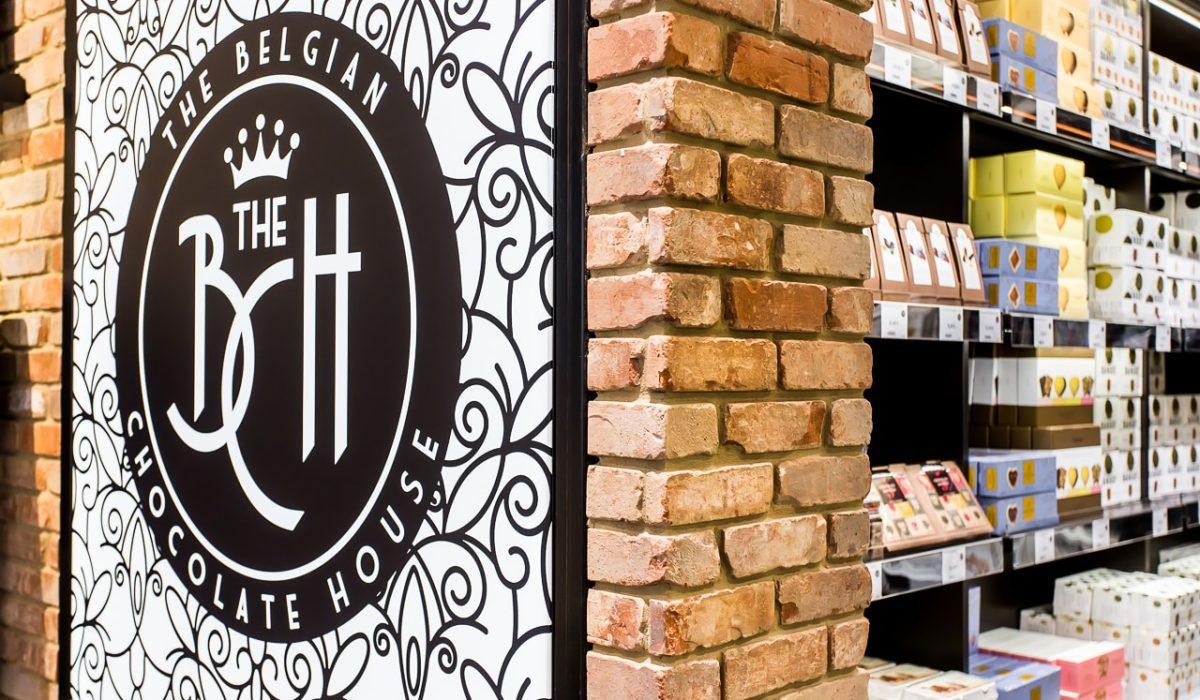 The Belgian Chocolate house - FyBox - led lichtbak