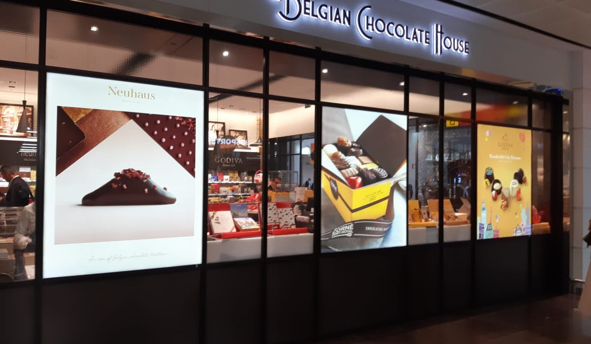 he Belgian Chocolate house - FyBox - lightbox