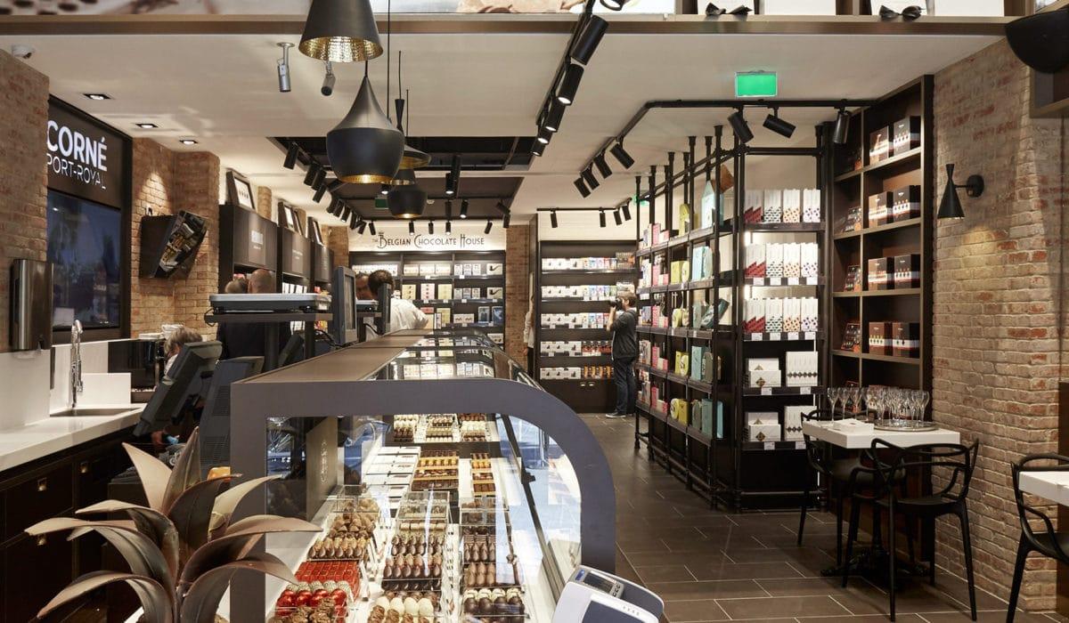 he Belgian Chocolate house - FyBox - caisson lumineux