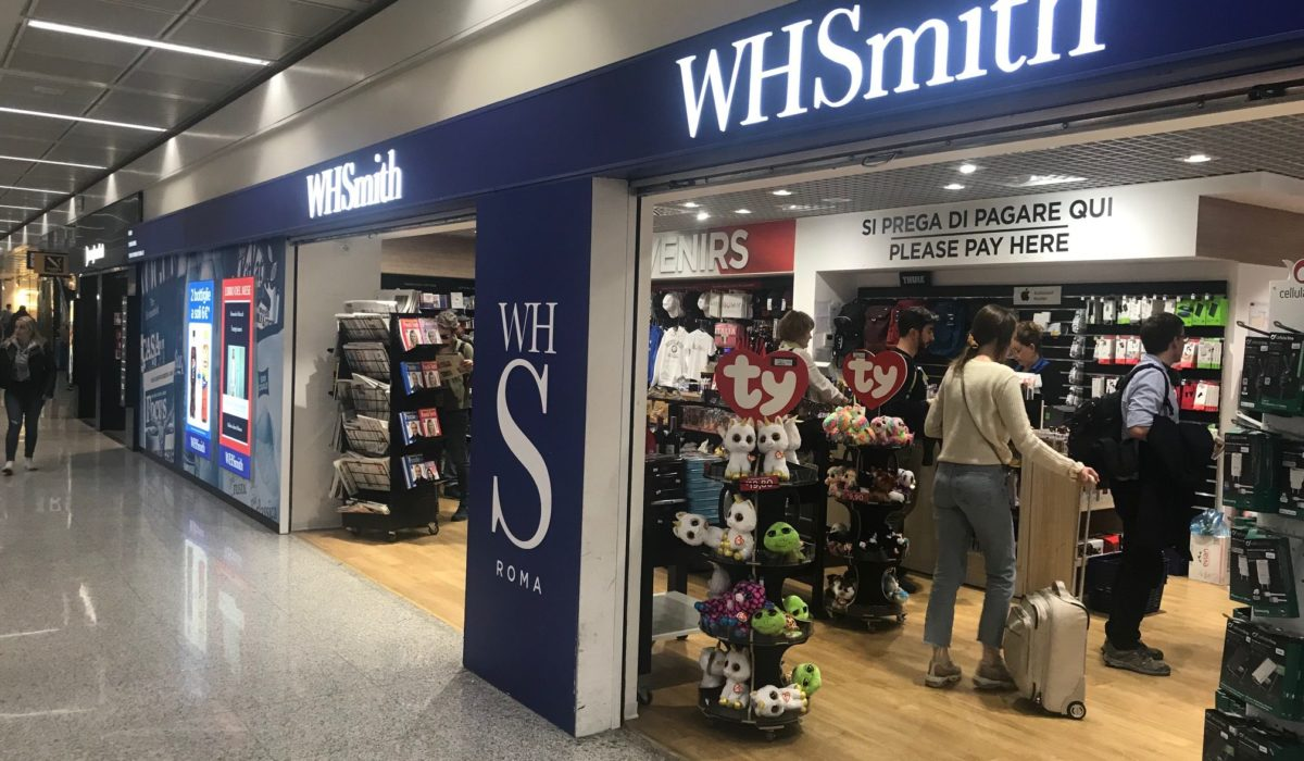 WH Smith Rome Fiumicino FyBox